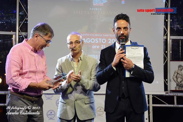 Da sinistra, Domenico Distante, Roberto De Lorenzo e Matteo Schinaia (foto Aurelio Castellaneta)