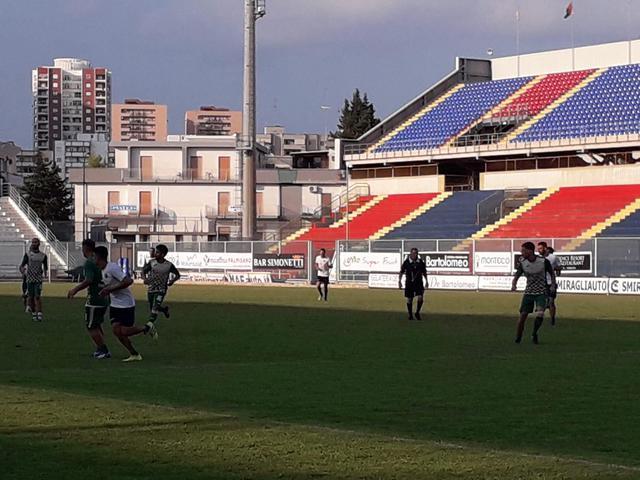 Un momento del match (foto Giulio Cito)
