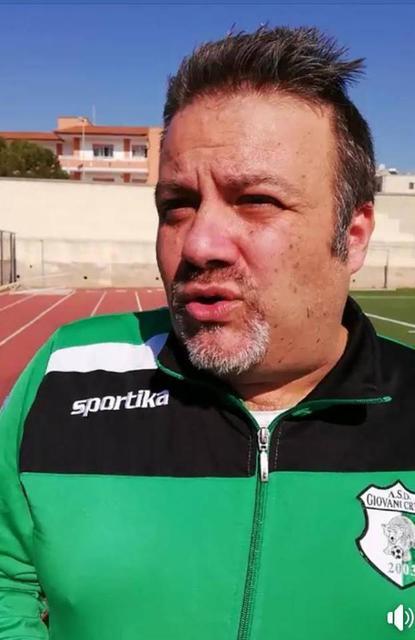 Il dirigente della Giovani Cryos Fabio Ancona