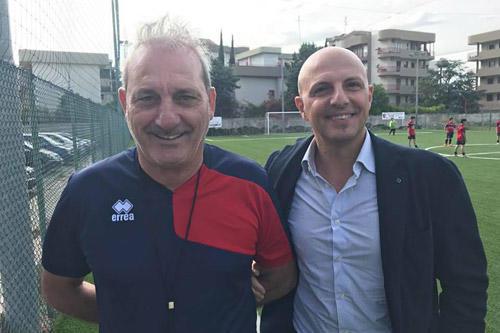 Il presidente Rocco Bruno e il direttore generale Giuseppe Denaro