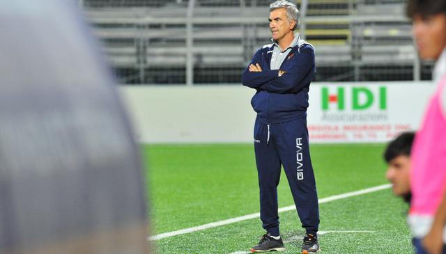 Il tecnico Domenico Giacomarro, FOTO: ROCCO CAPECE KIKINO