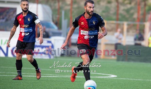 Il centrocampista Manuel Ricci, FOTO: MICHELE SALVATORE