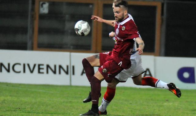L'attaccante Claudio Sparacello, FOTO: FONTE WEB