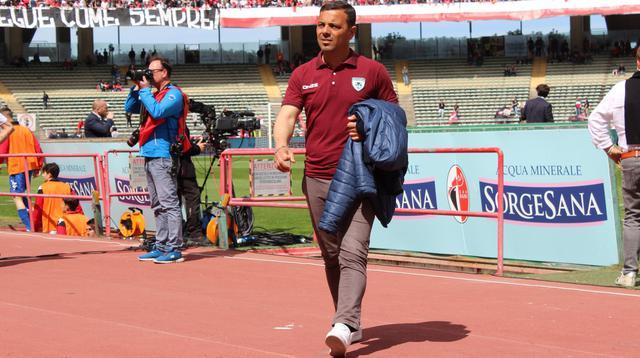 Il tecnico Giovanni Baratto, FOTO: ASD ROTONDA CALCIO FACEBOOK