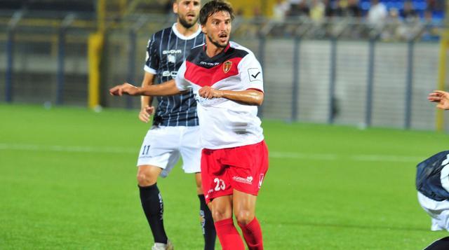 Il centrocampista Matteo Calamai, FOTO: ROCCO CAPECE KIKINO