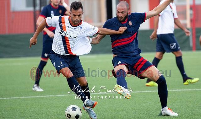 L'attaccante Francesco Potenza, FOTO: MICHELE SALVATORE