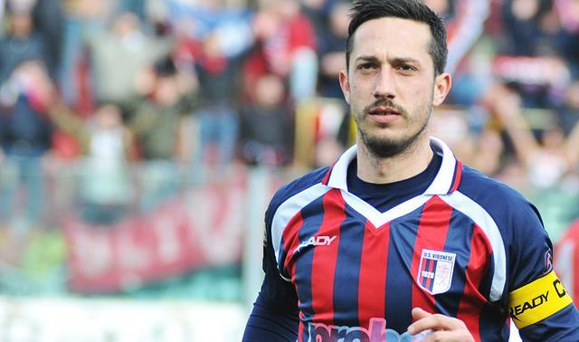 L'attaccante Andrea Saraniti, FOTO: FONTE WEB