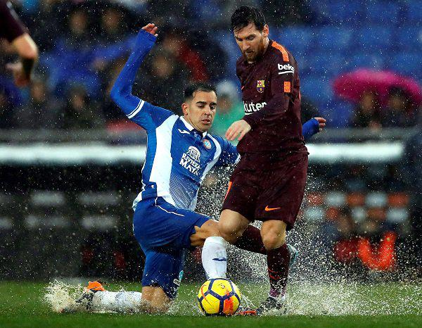 Fonte: Twitter, Lionel Messi, Espanyol-Barcellona.