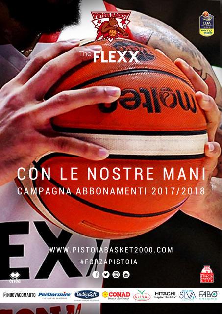 CON LE NOSTRE MANI - Campagna Abbonamenti 2017/2018