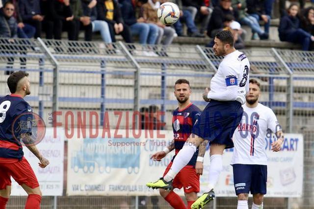 Max Marsili, centrocampista del Taranto - Foto Fabio Mitidieri/Aps Fondazione Taras