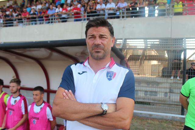 Francesco Cozza, allenatore del Taranto - foto Blunote.it