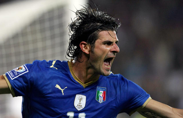 Vincenzo Iaquinta, ex attaccante della Nazionale oltre che di Juventus e Udinese