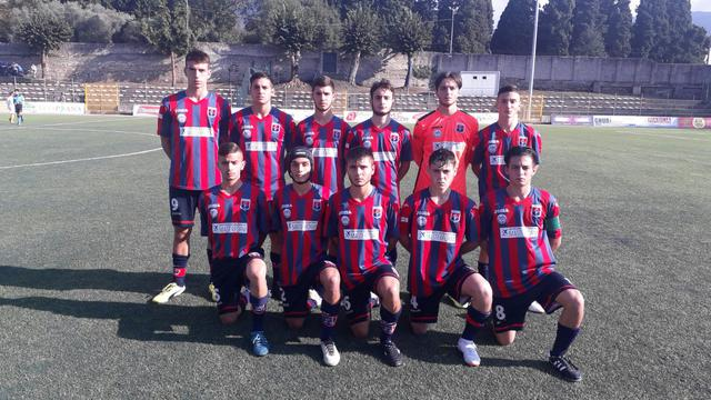 La formazione Juniores del Taranto che ha affrontato e battuto la Cittanovese - Foto Taranto FC