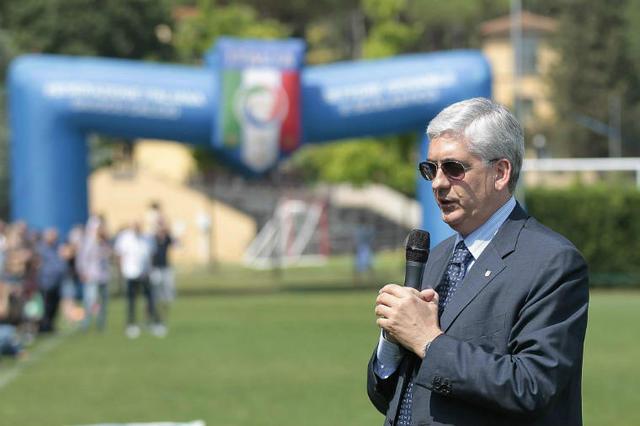 Vito Tisci, presidente della Figc Puglia