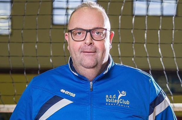 Giovanni Marasciulli, coach del Volley Club Grottaglie