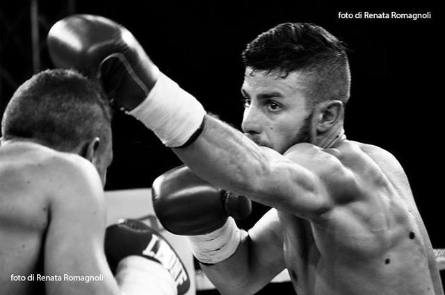 Roberto Elce della Boxing Team Aosta