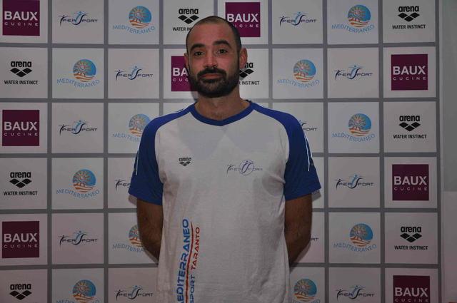 Paolo Baiardini, allenatore della Baux Mediterraneo Taranto