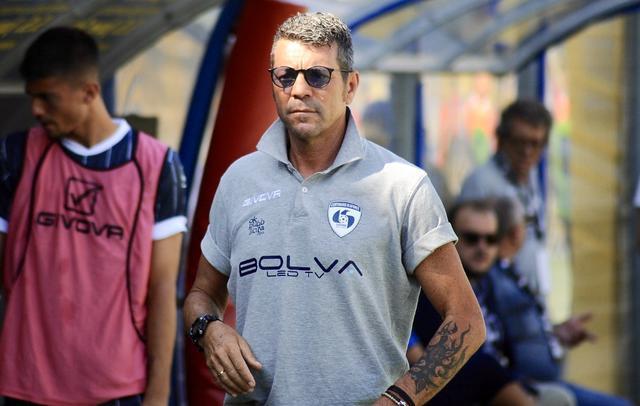 Salvatore Campilongo, allenatore della Cavese - Foto Cavese Calcio