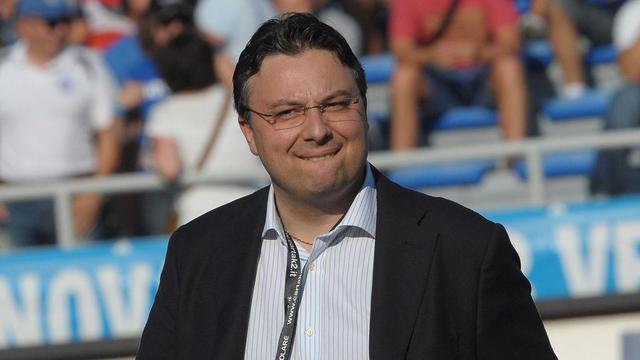 Massimo De Salvo, presidente del Novara - Foto La Stampa