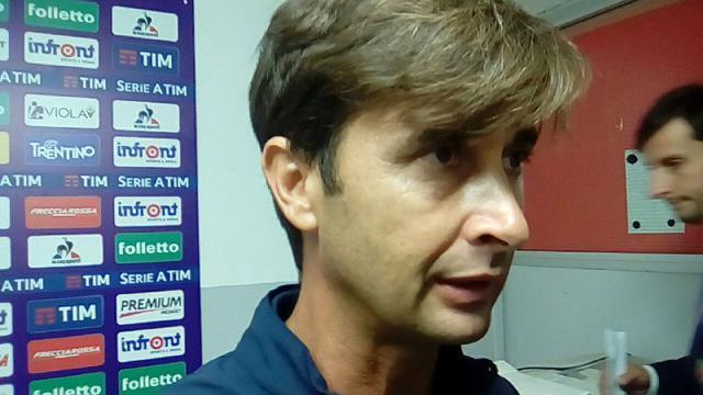 Emiliano Bigica, allenatore della Fiorentina Primavera