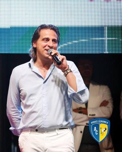 Nicola Grieco, presidente dell'Audace Cerignola