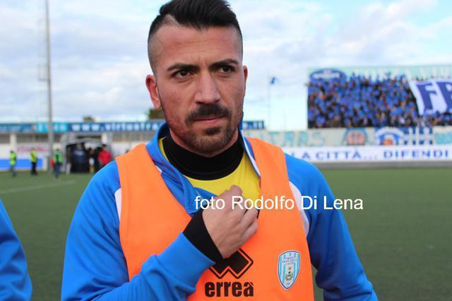 DECISIVO Francesco Mignogna ha realizzato il gol che ha permesso al Martina di superare il Trulli e Grotte
