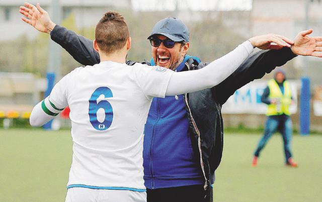Fabio Fossati, allenatore dell'Albissola
