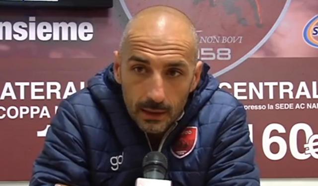 Roberto Taurino, allenatore del Nardò