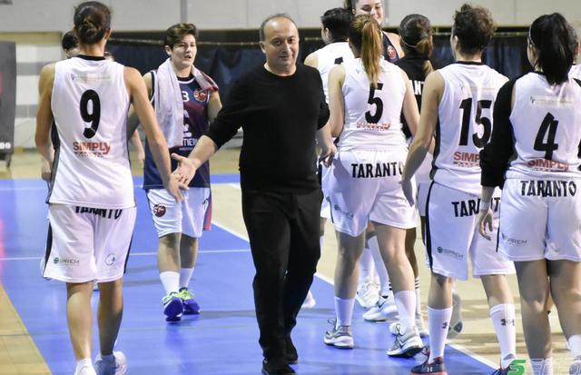 Fabio Palagiano, coach dell'Ad Maiora Taranto