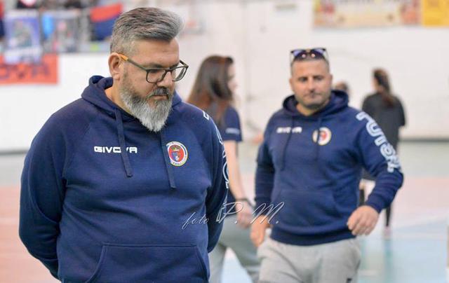 Tony Marzella, allenatore del Real Statte