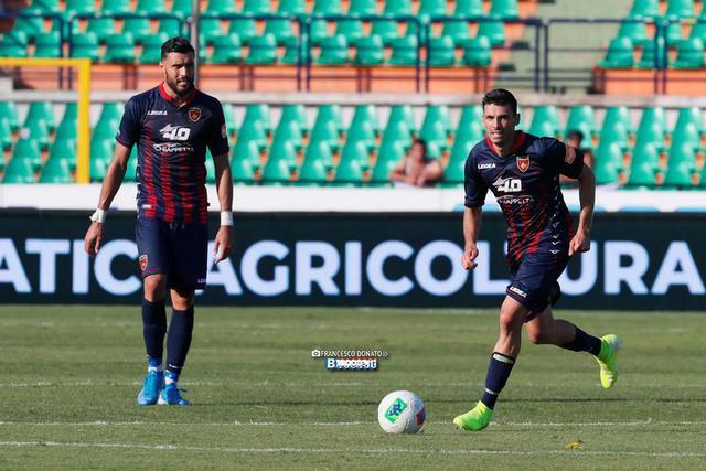 Daniele Sciaudone, centrocampista del Cosenza