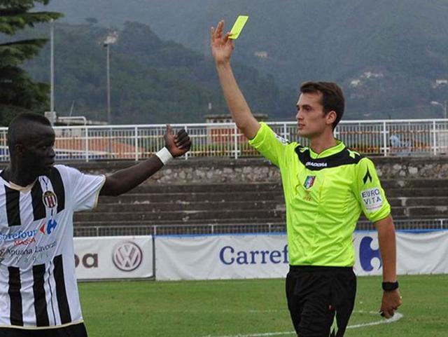 Igor Yuri Paolucci, arbitro di Sarnese-Taranto