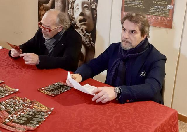 Da sinistra: Lino Conte e Aldo Salamino