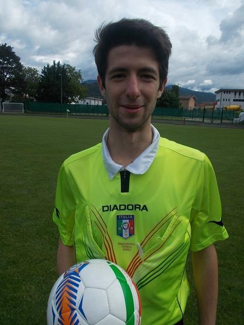 Filippo Giaccaglia, arbitro di Taranto-Bitonto