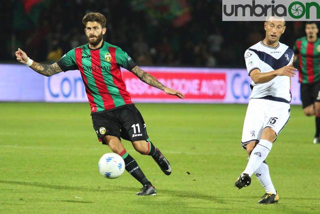 Diego Albadoro, 3 reti in 17 gare con la maglia della Ternana nella passata stagione in B