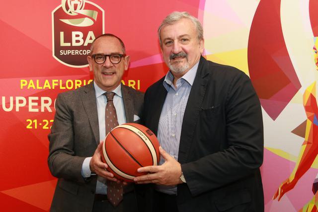 Egidio Bianchi, presidente della LBA, e Michele Emiliano, governatore della Regione Puglia