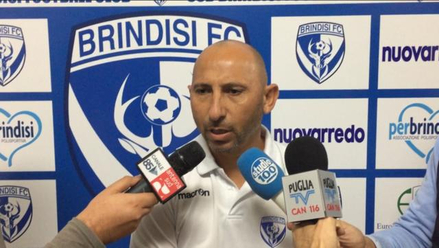 Danilo Rufini, allenatore del Brindisi