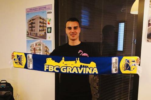 Stefano Riccio ha lasciato il Gravina per approdare alla Turris