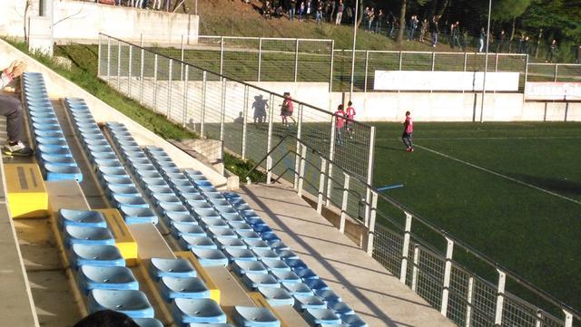 Una veduta dello stadio 'Donato Curcio' di Picerno