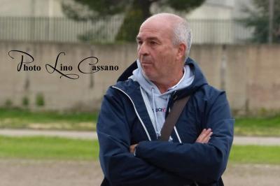 Ambrogio Lella, allenatore dell'Atletico Martina