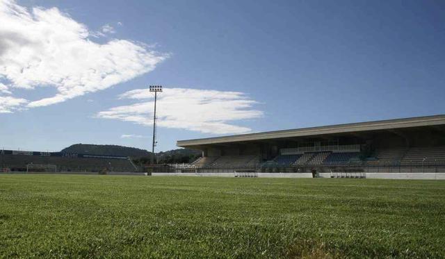Lo stadio 'Vito Curlo' di Fasano