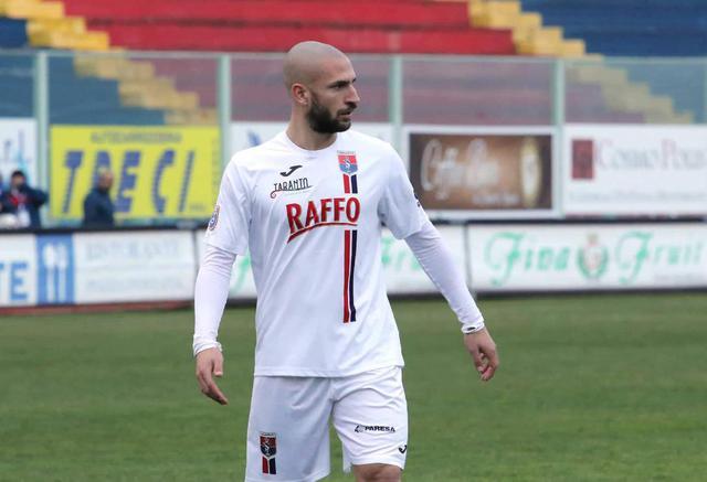 Fabrizio Roberti, attaccante del Taranto - Foto Franco Capriglione