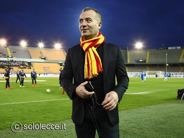 Saverio Sticchi Damiani, presidente del Lecce - Foto solecce.it