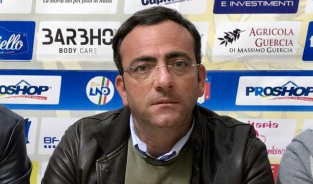 Teore Grimaldi, ha allenato il Cerignola in questa stagione