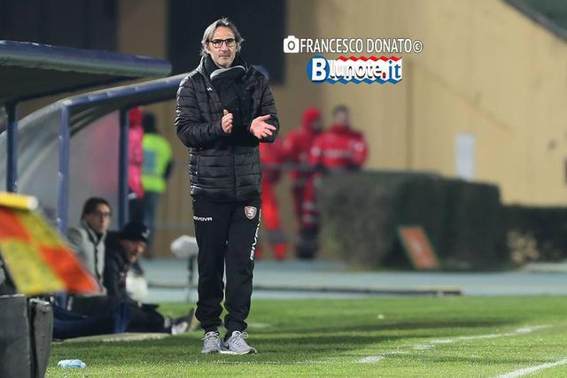 Angelo Gregucci, allenatore della Salernitana