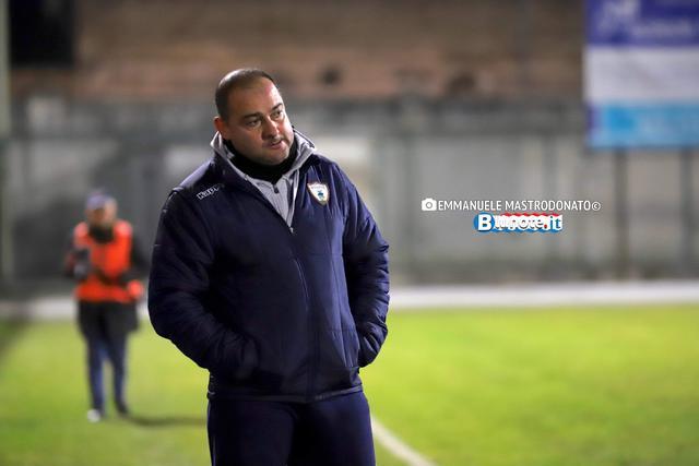 Massimo Pizzulli, allenatore del Bitonto, squalificato per un turno