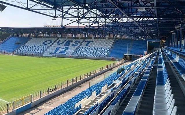 Lo stadio Paolo Mazza di Ferrara