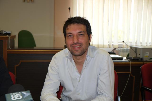 Vincenzo Quaranta, assessore allo sport del Comune di Grottaglie