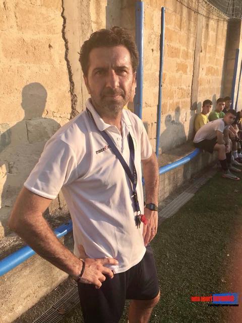 Mister Lezza, allenatore degli Allievi della Real Virtus Grottaglie