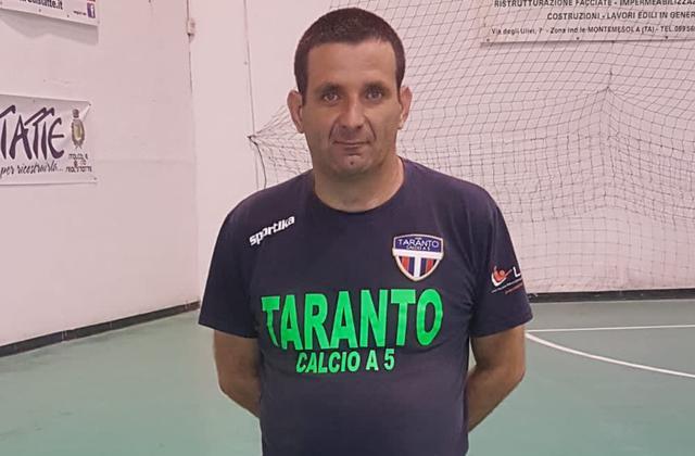 Valerio Chiarelli, presidente della New Taranto C5